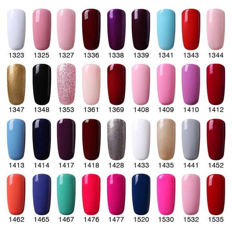 UV Gel Nail Polish Elegant Colors