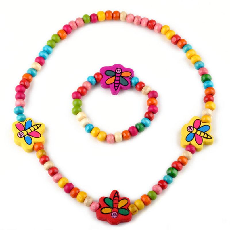 Beaded Necklace And Bracelet Set Sets
